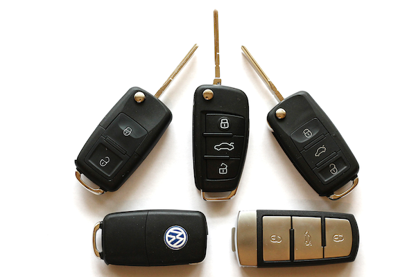 Volkswagen Car Keys