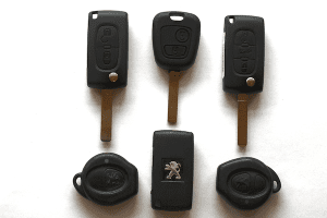 lost peugeot keys leicester